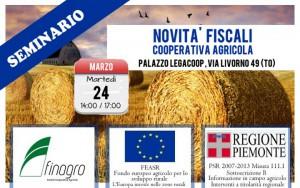 NOVITA' FISCALI , Cooperativa Agricola – martedì 24 marzo 2015 ore 14,00